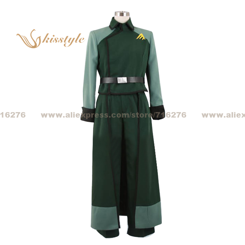 Kisstyle Fashion Mobile Suit Gundam 00 Billy Katagiri Uniform COS Clothing Cosplay Costume Customized Accepted