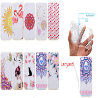 Painted relief Cases For Huawei P8 Lite 2017 Cover transparent Acrylic Backplane And Soft TPU Edge Scratch proof Lustrous Case