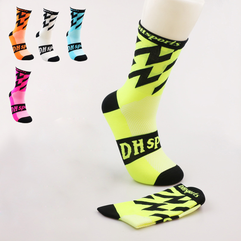 Bike Riding Socks Mountain Road Cycling Lengthening Sports Socks Compression Sports Athletic Riding Bike Long Socks