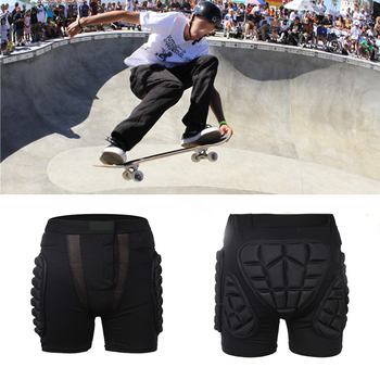 Sportowe Snowboard spodenki Hip ochronne dół wyściełane dla motocykl narciarski rolki Snowboard Skate Hip Pad ochrony koła zębate tanie i dobre opinie Szorty Unisex Skating 100 bawełna CAR-partment