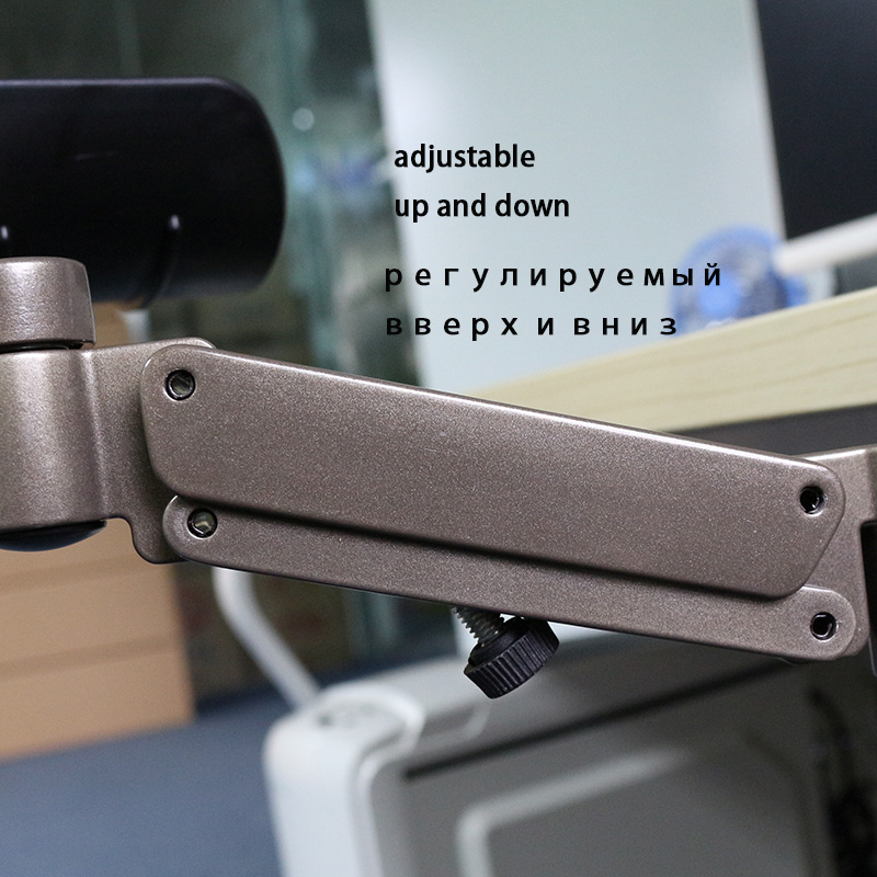 Repose-bras réglable en métal support de poignet accoudoir de tapis de souris étendu pour ordinateur ergonomique main confort tapis de souris protection des épaules - 4