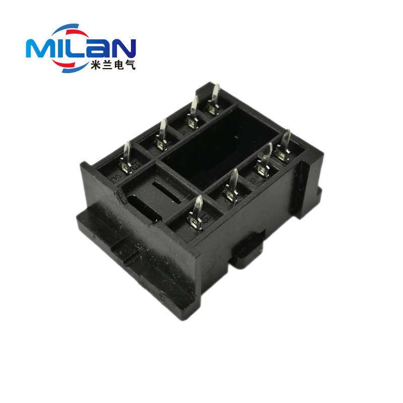 1 adet PY08-02 18F-2Z-A2 PCB 8 Pin Gerilim Röle Soket Tabanı HH52P MY2NJ H3Y-2