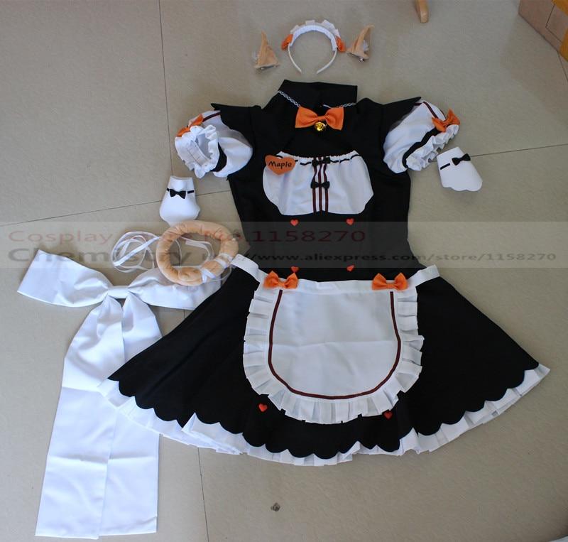 Nekopara Maple Cosplay Costume