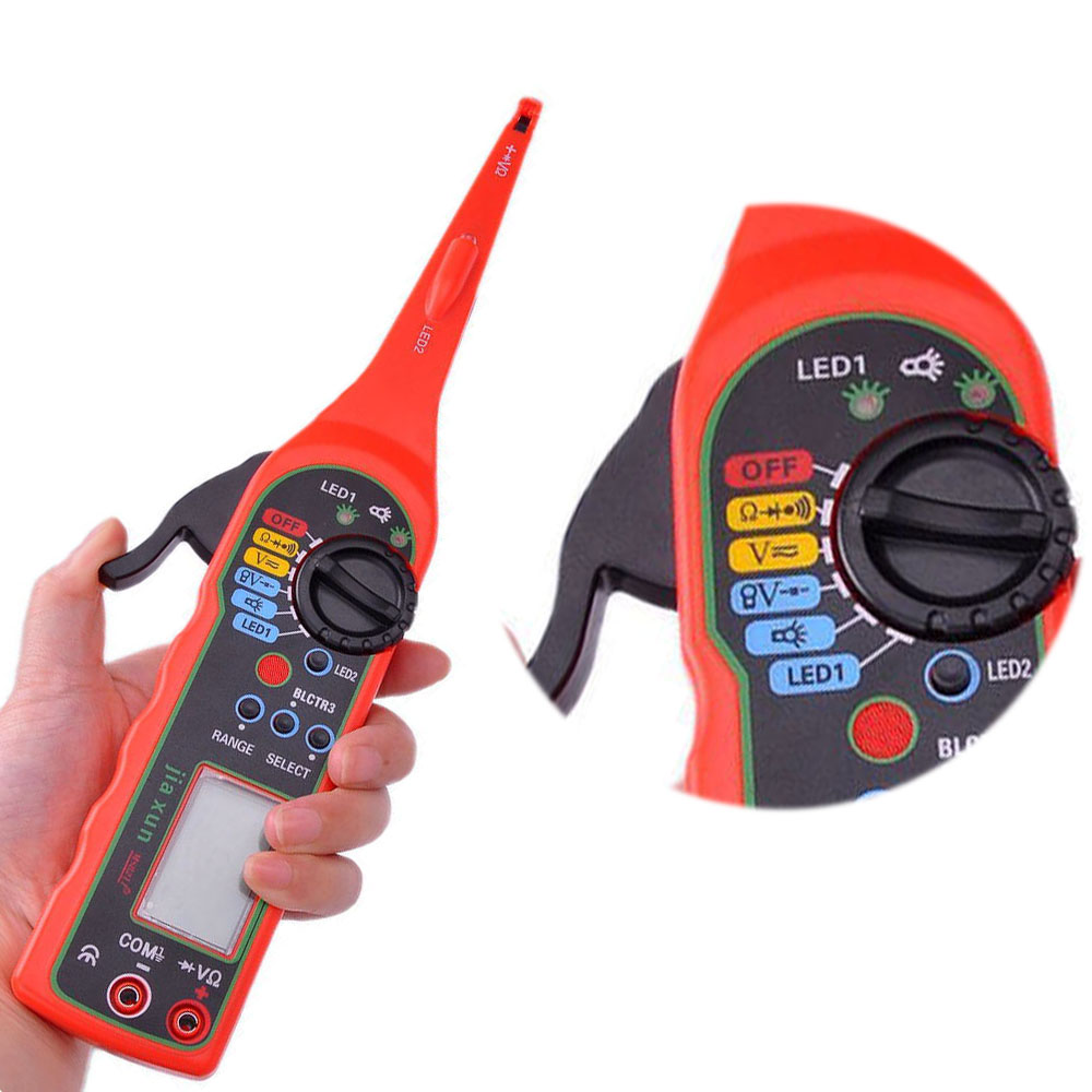 2016 NEW Multi function Auto Circuit Tester Multimeter Lamp Car Repair Automotive Electrical Multimeter Diagnostic Tool