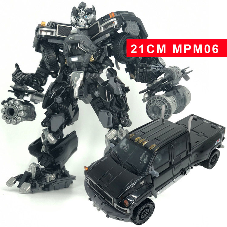 TKR Transformation Ironhide MPM06 MPM-06 Unofficial Revised KO Version Action Figure Robot Collection Toys