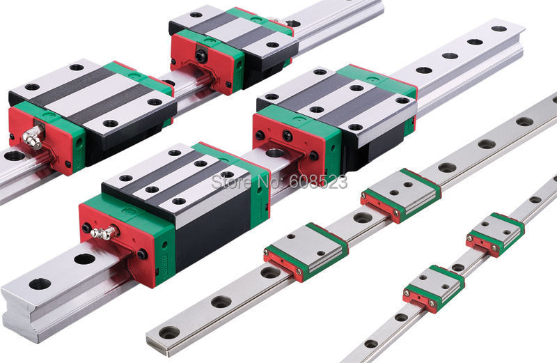 HIWIN L750mm Linear Guide Rail HGR25+2Pcs Carriage HGH25CA CNC Engraving Milling thk interchangeable linear guide 1pc trh25 l 900mm linear rail 2pcs trh25b linear carriage blocks