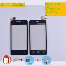 Touch Screen Digitizer For ZTE Blade C341 C 341 Touch Panel Touchscreen Lens Front Glass Sensor NO LCD C341 Replacement цена в Москве и Питере