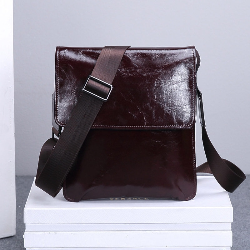 MANJIANGHONG 2017 New Arrival Men's Shoulder Bag Satchel Genuine Cowhide Leather Messenger Bags For Men Rugged Portfolio HZ353 casual canvas satchel men sling bag