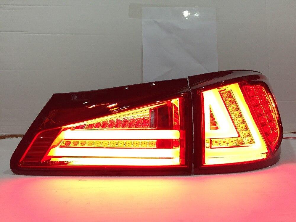 Бесплатная доставка сзади автомобиля лампа для Lexus является 250 для is350 для светодиодные задние фары 2006-2012 Год