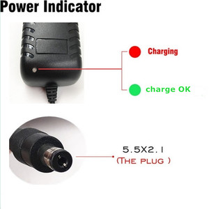 Image 2 - 4.2 V 3A 5.5*2.1mm AC DC Power Supply Adapter Oplader Voor 1 serie 4.2 V 3.7 V 3.6 V 18650 Li Ion Li po Batterij Gratis Verzending