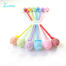36 Pcs/lot Lollipop Pen Souvenirs Birthday Party favors Decorations Kids Supply Baby Shower Cute Gift Christmas/New year