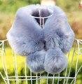 2015 autumn and Winter women's faux fur collar female winter faux rex rabbit  fur scarf thermal muffler thicken warm scarf
