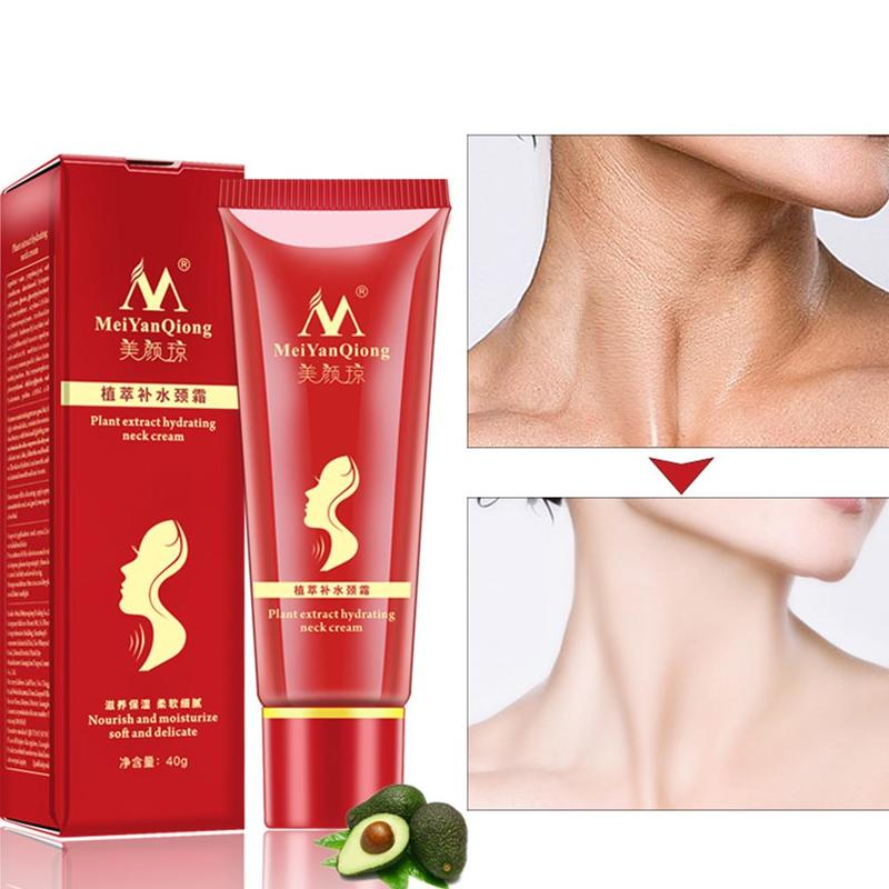 Skin-Care Neck-Cream-Extract Reduce Shea-Butter Hydrating Moisturizing Fine-Lines Double-Chin