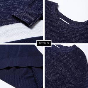 Image 5 - ¡Novedad! Jersey de punto de algodón de manga larga de otoño para hombre de Metersbonwe, ropa de alta calidad