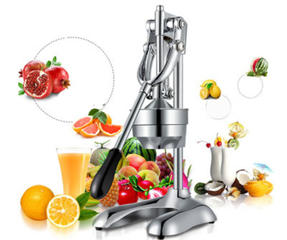 Acier inoxydable manuel hand press juicer squeezer agrumes citron orange grenade fruits extracteur de jus commerciale ou ménage