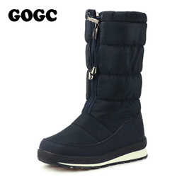 GOGC Russian Famous Brand Winter Boots for Women High Quality Women Winter Shoes Female Snow Boots Comfortable Women Shoes 9613