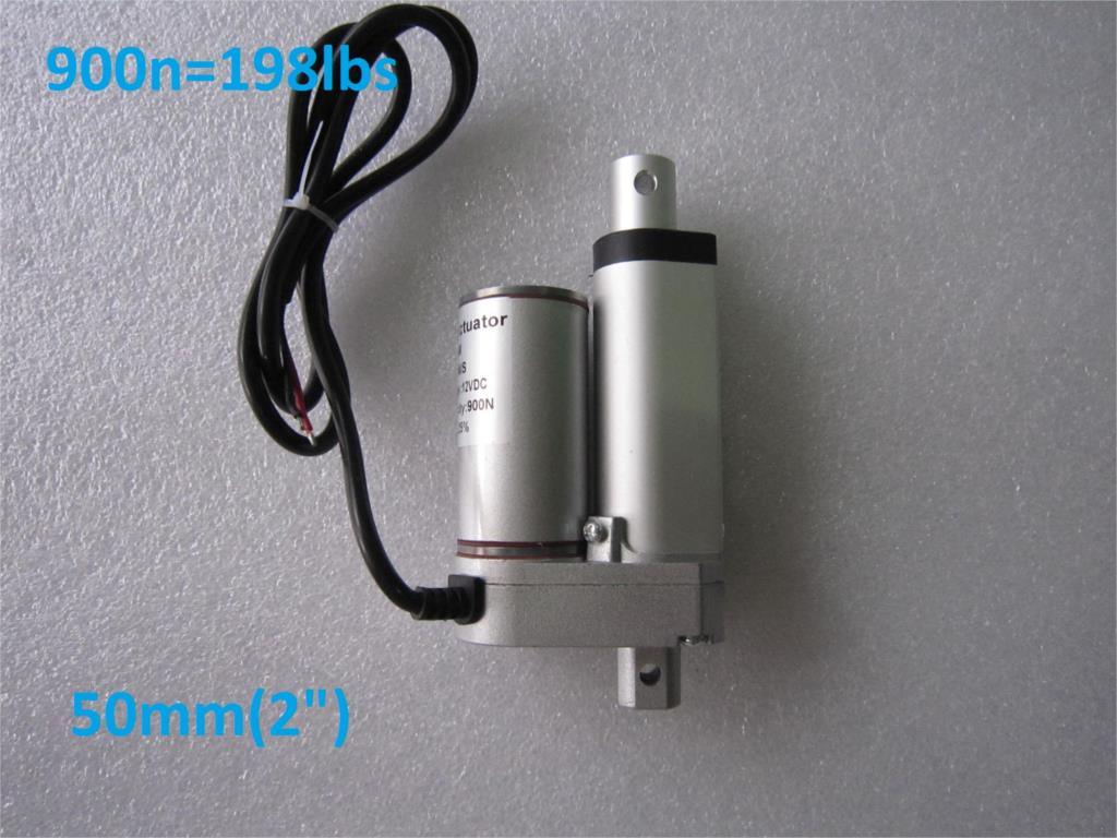 2inch(50mm) stroke windows Electric linear actuator dc motor, DC 24V/12v 10mm/s, Heavy Duty Pusher 90Kg-Freeshipping