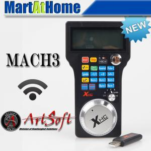DHL Free Shipping 2016 Version CNC 3 Axis Wireless Hand Wheel, Manual Pulse Generator, MPG Remote Controller Mach3 #SM430 @DF