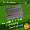 "JIGU A1189 MA458 Replacement Laptop Battery For APPLE MacBook Pro 17"" A1151 A1229 MA092 MA611 MA897*/A MB166*/A 68WH"