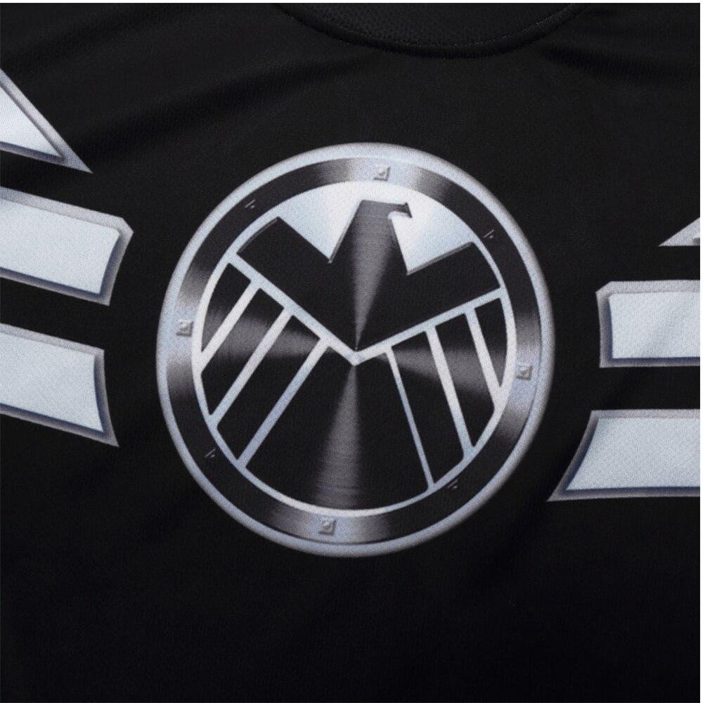 Uus T-särk Kapten Ameerika Shield Kodusõja Tee 3D Trükitud - Kostüümid - Foto 6