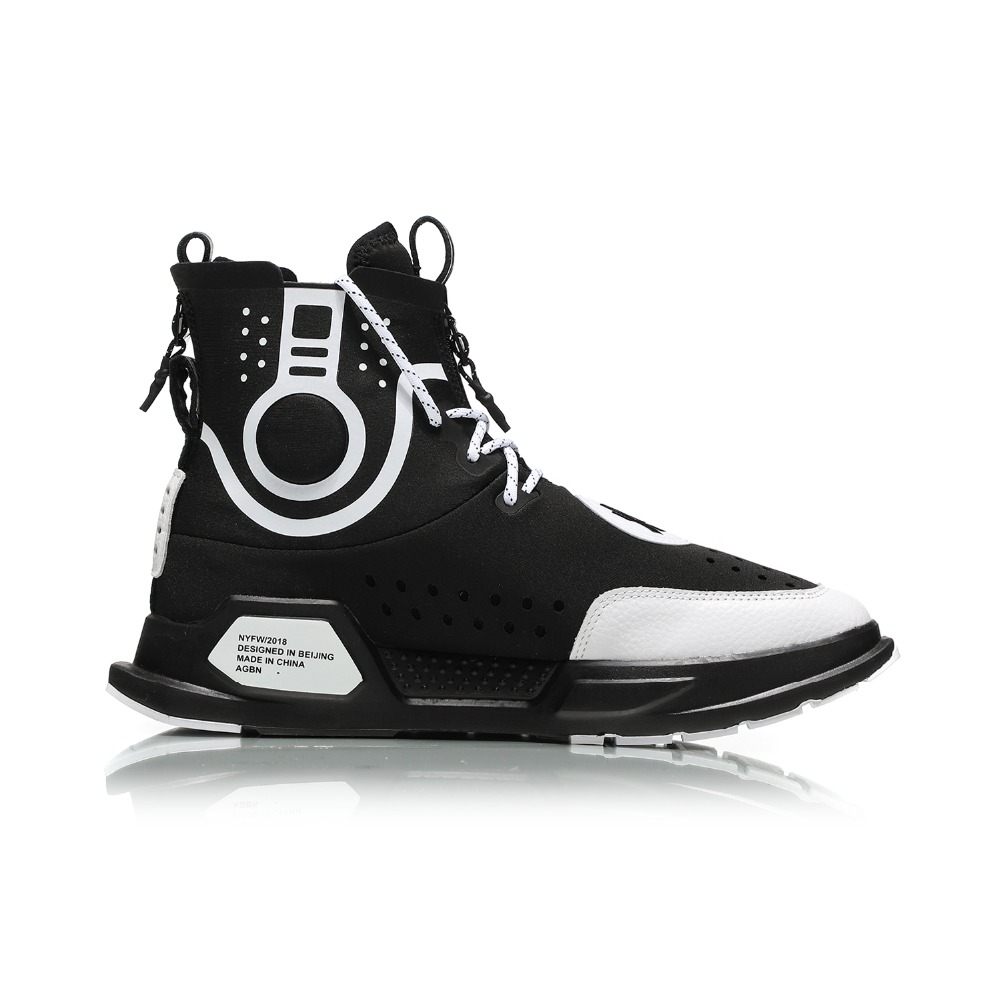c504b00fa Li Ning NYFW Unisex  REBURN  Basketball Culture Shoes Wearable Comfort  LiNing Sport Shoes Fitness Sneakers AGBN052 XYL170-in Basketball Shoes from  Sports ...