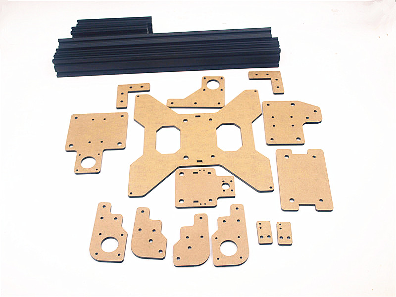 Funssor acrylic parts & extrusion frame kit for Tarantula 3D printer part Laser cut parts for Tarantula 3d printer repraptantillus 3d printer 6mm acrylic laser cut frame kit set 6mm thickness high quality free shipping page 9