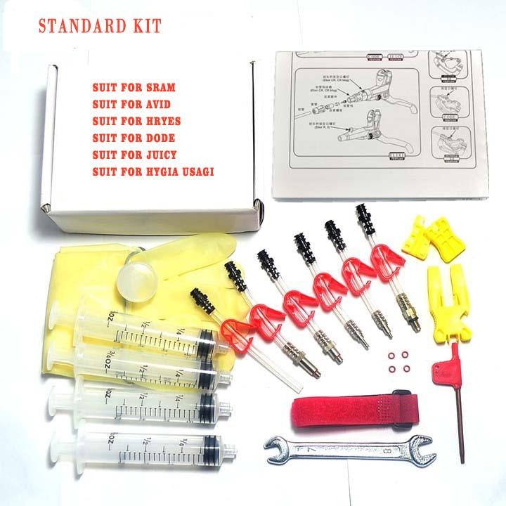 AVID Formula HAYES DODE HYGIA USAGI Bicycle Hydraulic Disc Brake Bleed Tool Kit