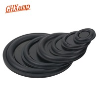GHXAMP Rubber Woofer Vibration Membrane Bass Radiator Passive Radiator Speaker 30.5MM 40M 50MM 75MM 85MM NEW 2PCS