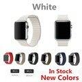 loop band For Apple Watch Band Metal Original Genuine Leather Milanese Loop Watch strap For Apple Watch