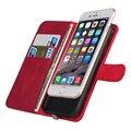 Caliente cajas del teléfono caso del tirón con qi cargador para iphone 7 receptor sin hilos del cargador caja cubierta de la carpeta para iphone 6 6 s de carga