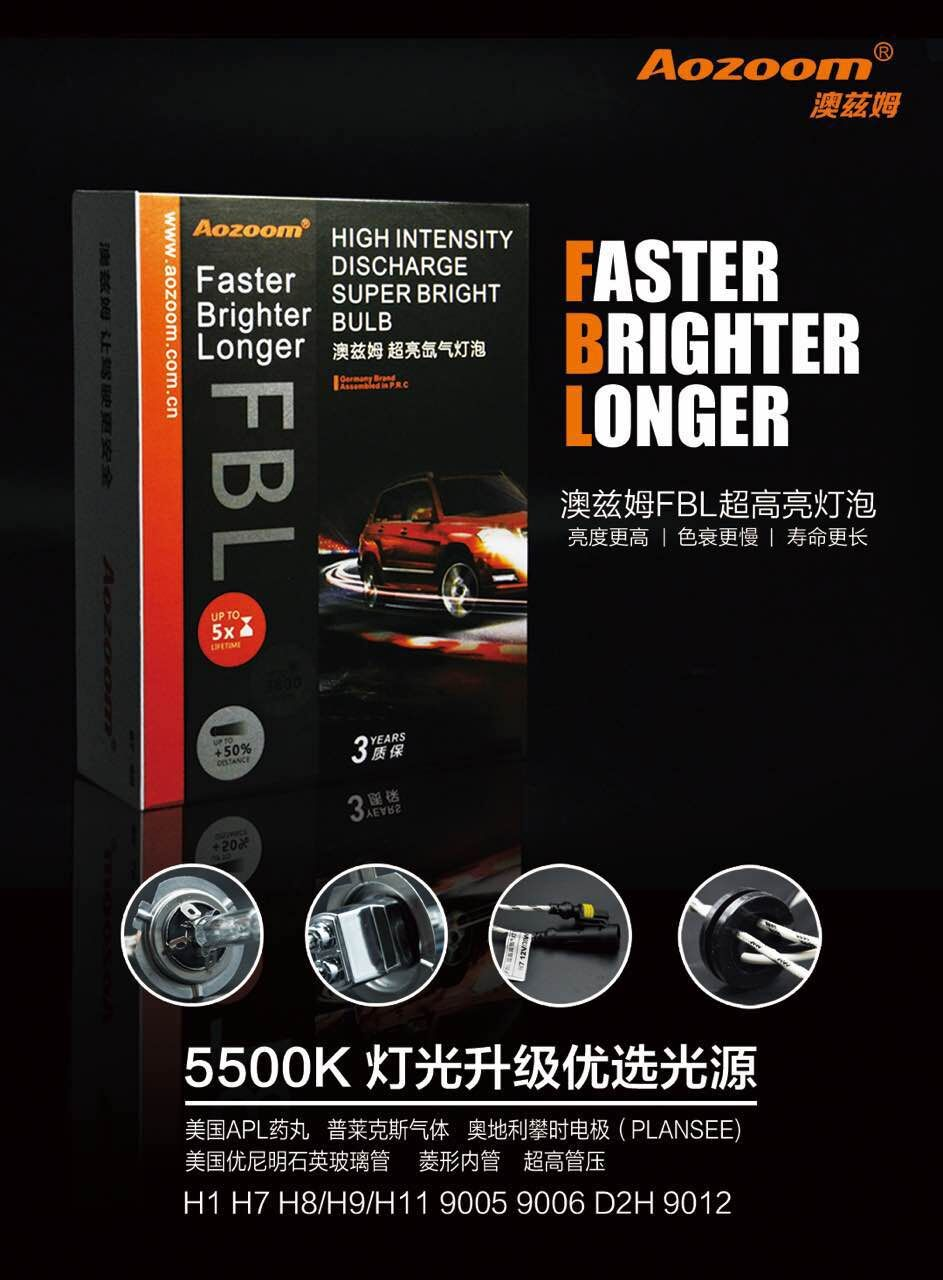 Aozoom Hid-Bulb Super-Bright H11 9005 9006 9012 D2H Discharge High-Intensity title=