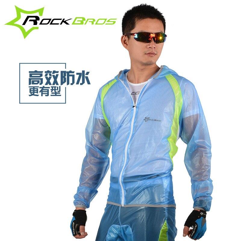 RockBros Bike Cycling Rain Coat Windcoat Rainproof Windproof MTB Bicycle Jacket