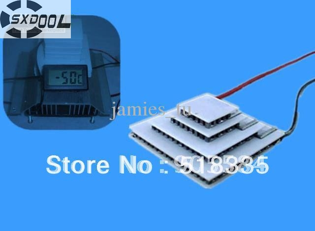 SXDOOL Peltier 4-stage TEC4-24603 3A 14.6V 6.8W 15*15 20*20 30*30 40*40 Thermoelectric Cooler Modules Manufacturer Warranty