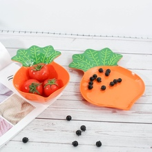 Melamine Salad Bowl Plates Support  Degrees For Home Or Outdoor Temperature 20 -120 Fruit Dish Tableware
