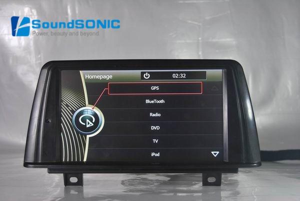 car radio dvd gps navigation sat navi multimedia for bmw 1 series f20 f21 2 series f22 f23 3. Black Bedroom Furniture Sets. Home Design Ideas
