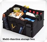 Car Back Folding Storage Box Car Portable Storage Bags FOR mazda cx 5 golf 7 citroen c5 kia sportage renault captur skoda fabia