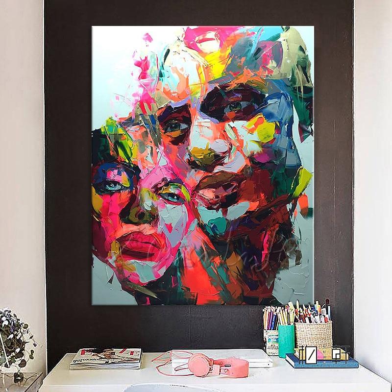 figura canva parede arte imagem