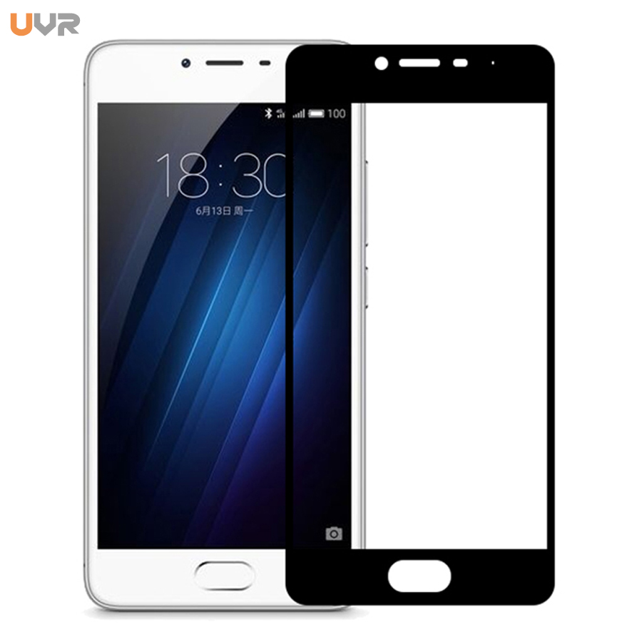 UVR 9H Hardness Full Cover Tempered Glass For Meizu M3 M3S mini M 3S Y685H M 3 M688C M3 S Screen Protector Protective Glass Film