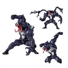 6inch Spiderman Venom Action Figure PVC Anime Avenger Figure Toy Doll Model Gift цена