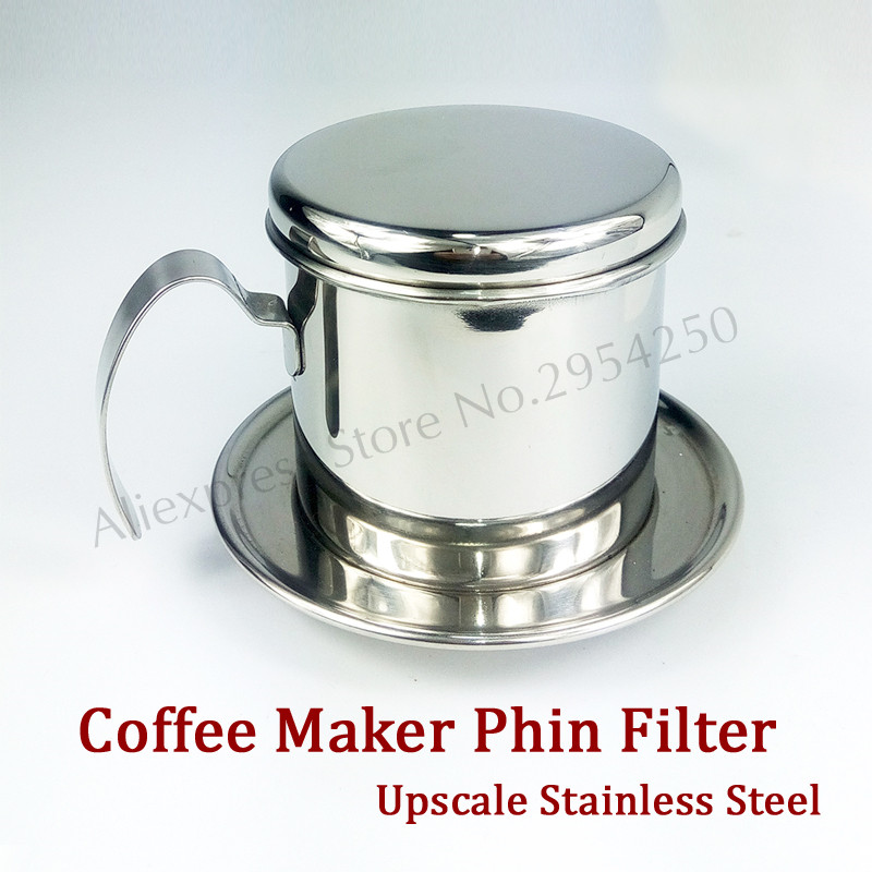 Coffee Maker With Metal Filter : Stainless Steel Coffee Phin Filter Cold Brew Coffee Drip Pot Infuser Maker Serviceable-in Coffee ...