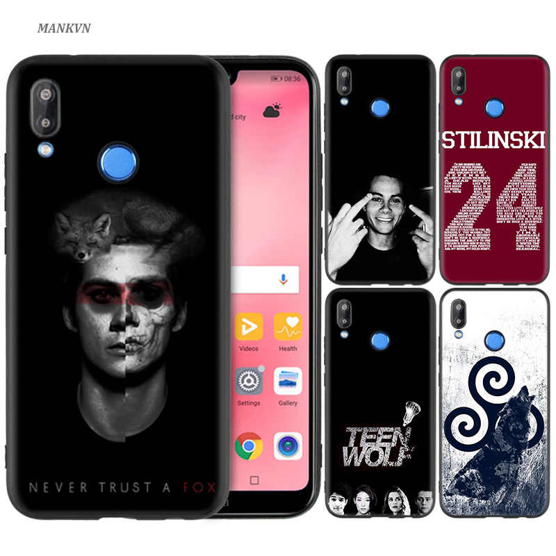 Silicone Case Cover for Huawei P20 P10 P9 P8 Lite Pro 2017 P Smart+ 2019 Nova 3i 3E Phone Cases Teen Wolf Tv Show Dylan O'brien
