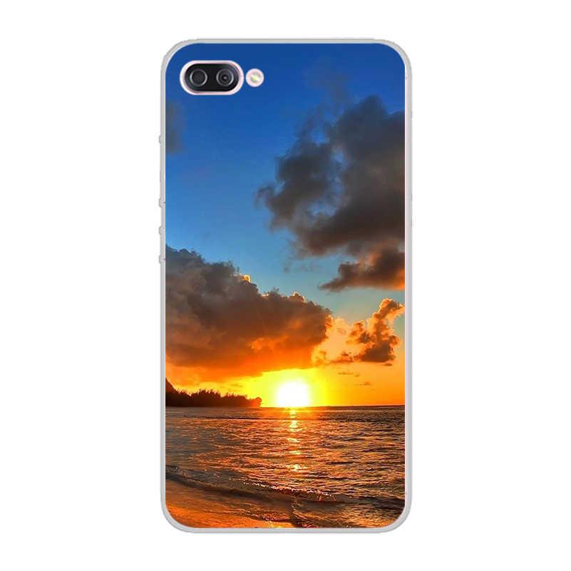Ciciber Hawaii Đi Biển Mùa Hè Đại Dương Coque Cho ASUS Zenfone Live L1 V 3 ĐI Zoom S MAX Lite Plus Pro m1 LÝ Vỏ Mềm TPU Bao