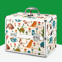 2018 Sale Real Caixa Organizadora Storage Cute Cartoon Household Medicine Box Full Of Small Mini Medical