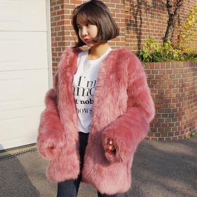 Manteau Gamme Haut Fourrure 10 En Mode Fausse De Nouveau Style S66 Femmes Tw1qv