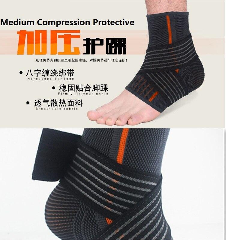 Suporte do tornozelo Brace Compressão Material de