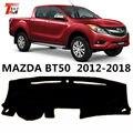Чехол для приборной панели автомобиля TAIJS для Mazda BT50 12-18 из полиэфирного волокна левый руль авто приборная панель защитный коврик для Mazda BT50
