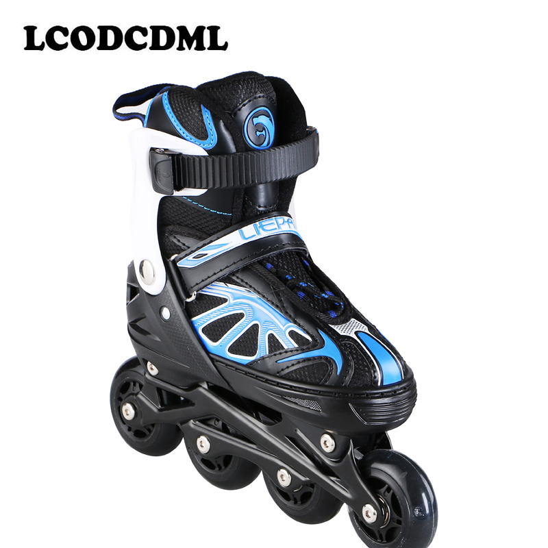 Roller skates for adult Single row children PUwheels outdoor sport цена 2017