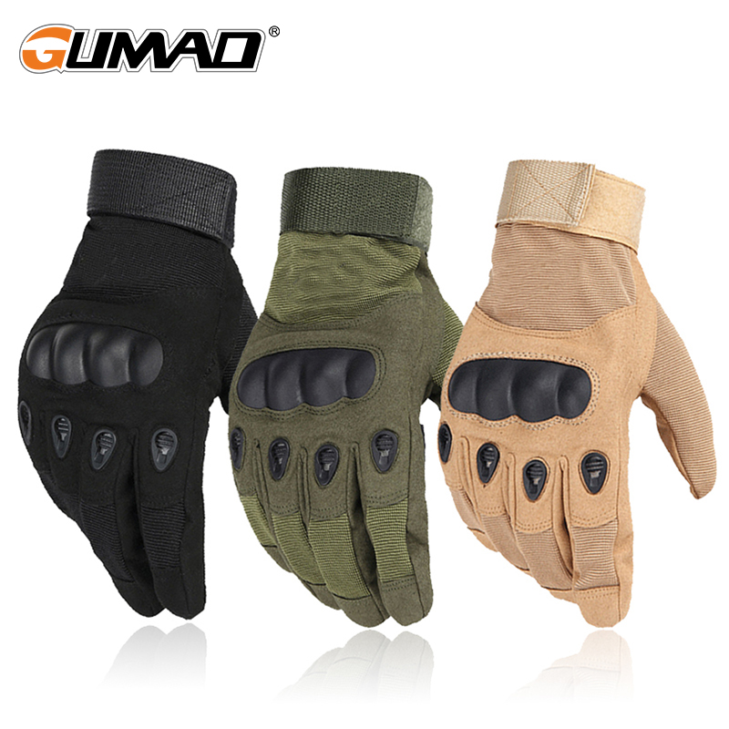 Outdoor Touch Screen Military Tactical Gloves Combat Hard Knuckle Sport Hiking Hunting Climbing Mountaineering Cycling Riding