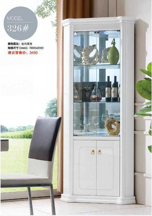 326 living room furniture wine cabinet display corner showcase wine rh aliexpress com Corner Wine Bar Cabinet Small Corner Wine Cabinet