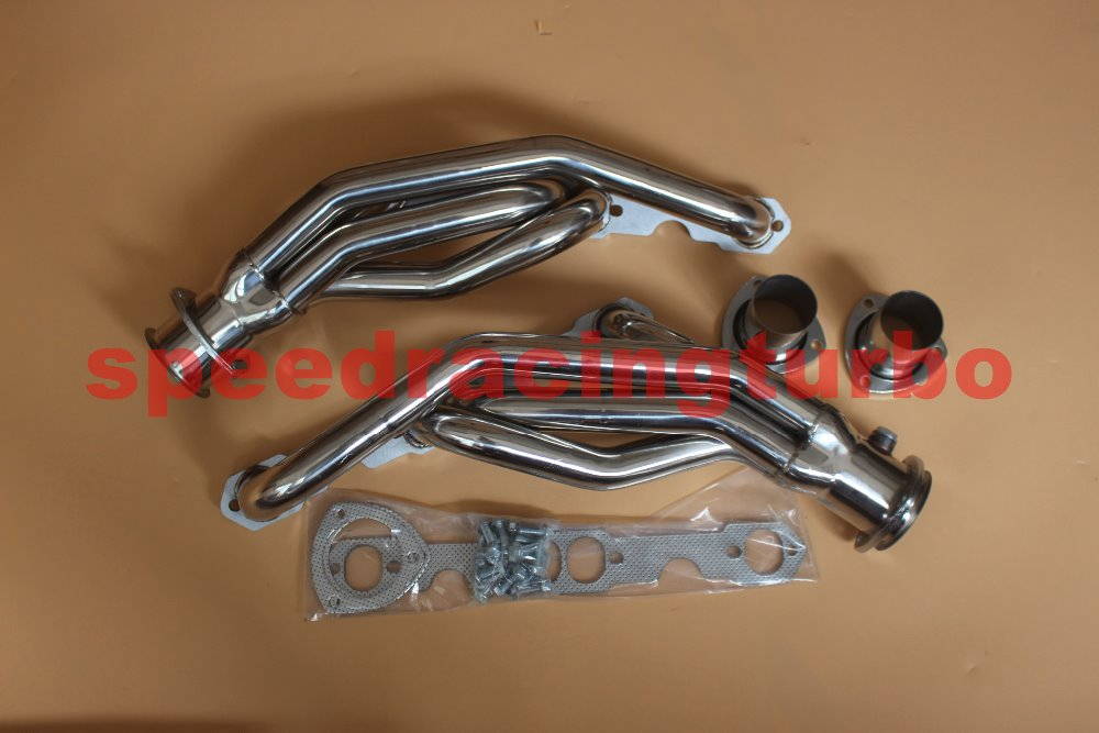 EXHAUST HEADER FOR FIT GMC Truck 88-95 5.0L 5.7L 350 STAINLESS